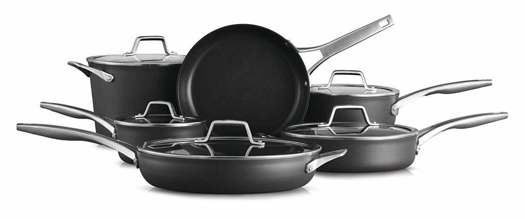 Calphalon Premier Hard Anodized Nonstick Cookware Set - Review
