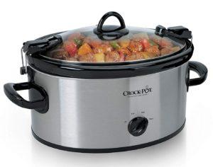 Crock-Pot Cook & Carry 6-Quart Portable Slow Cooker