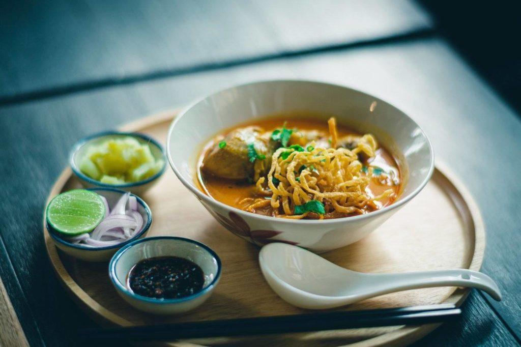 Ramen Asian food