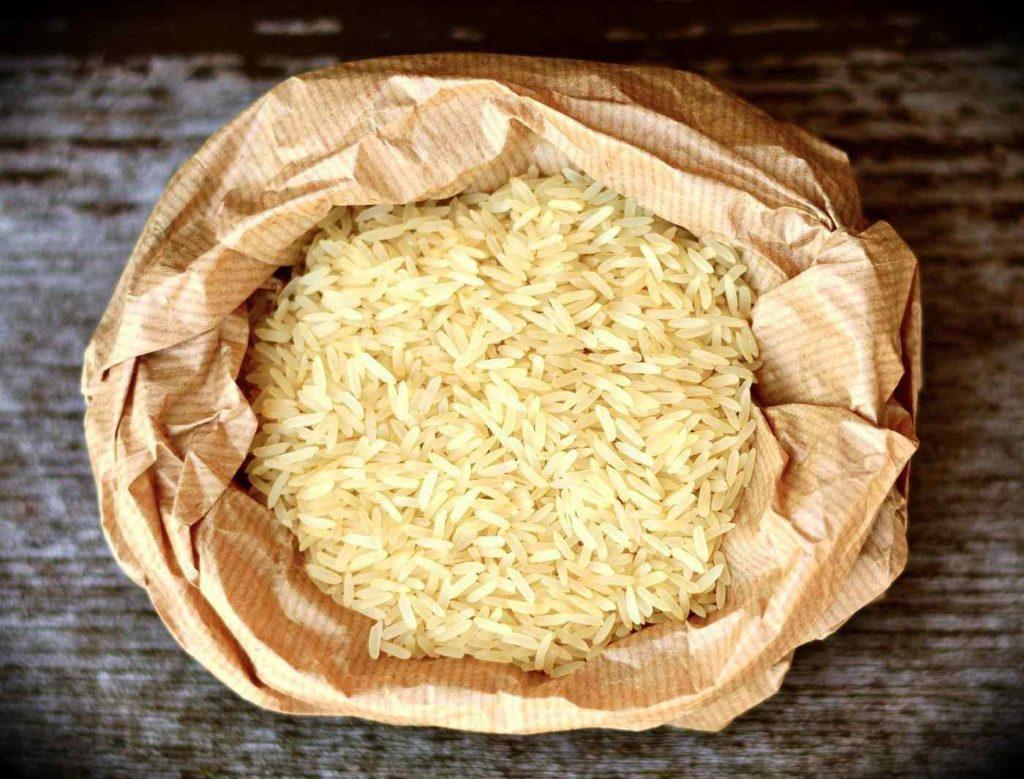rice in bag